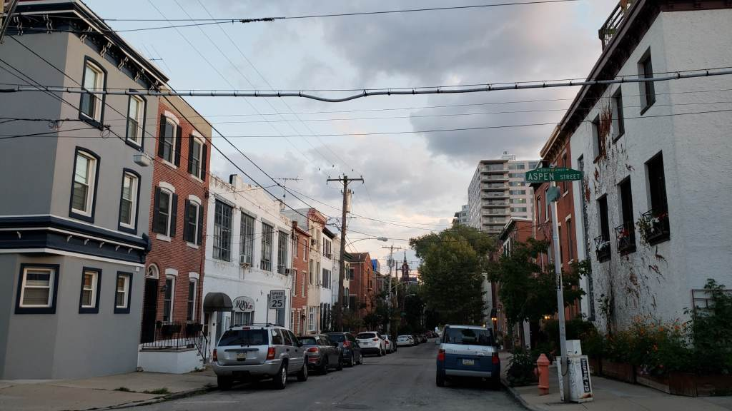 Philadelphia Art Museum neighborhood.