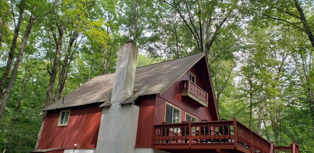 My Friend's Cabin. Pocono Lake, Pennsylvania.