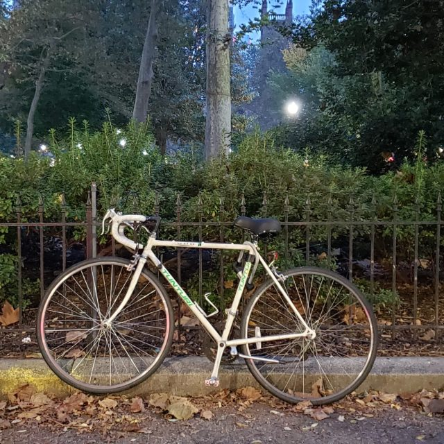 Bicycles in Rittenhouse Square