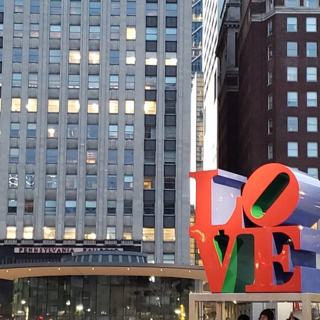 Love Sculpture Philadelphia