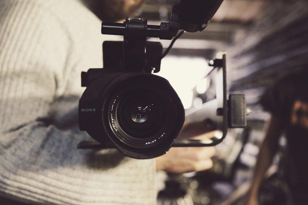 Framing a shot.