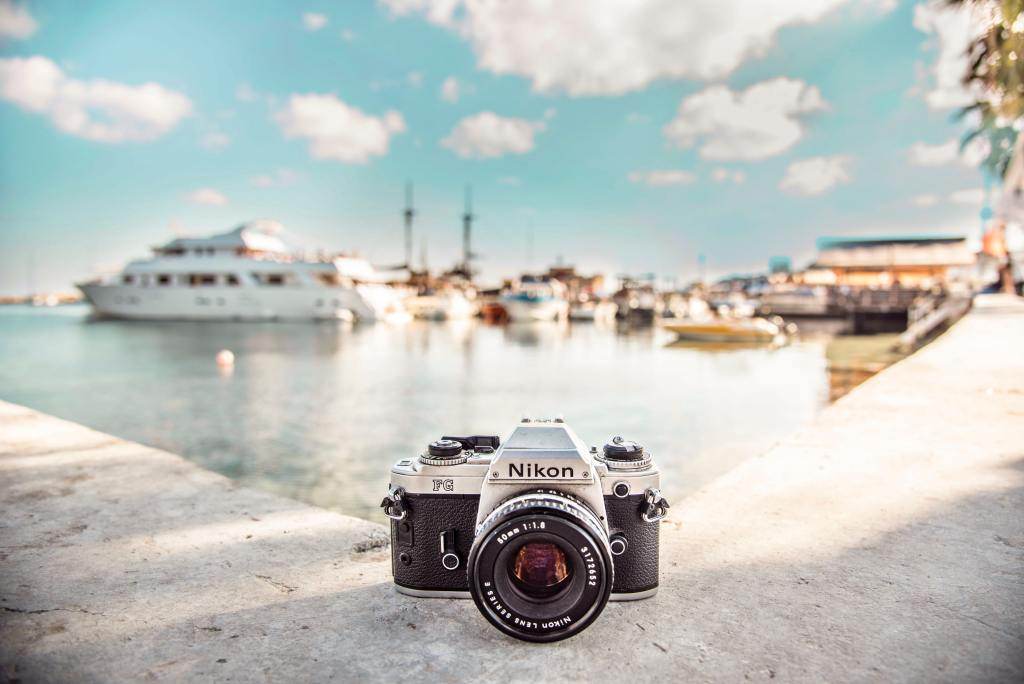 Camera in Greece