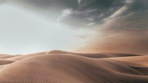 Desert Landscape Wide Angle