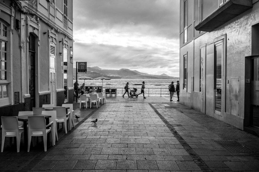 Promenade to Ocean.