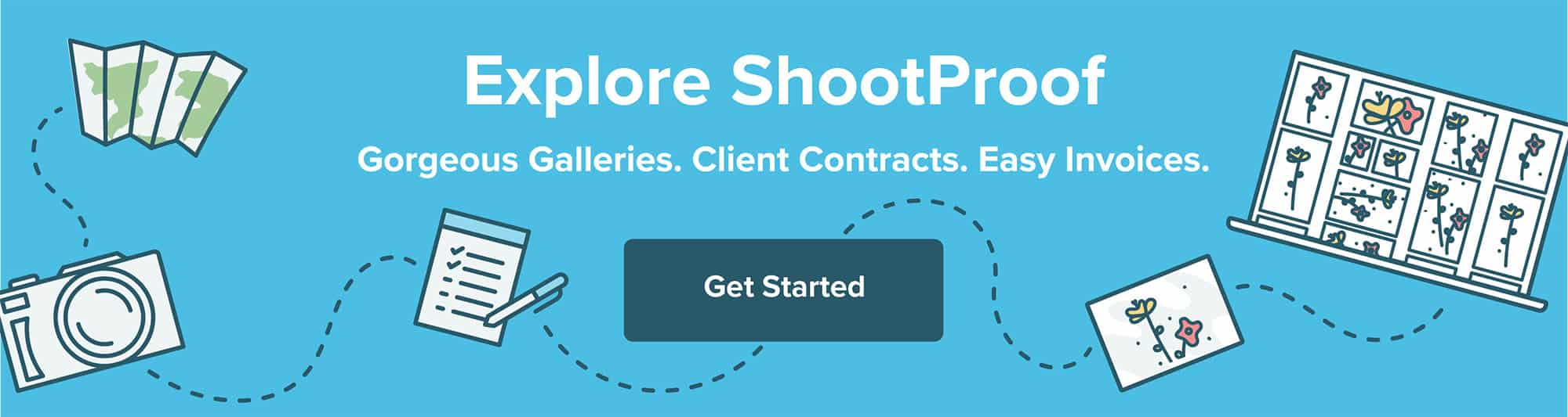 Show, share, and sell your photos with ShootProof! 💙 Powerful galleries, contracts, & invoices for pros.