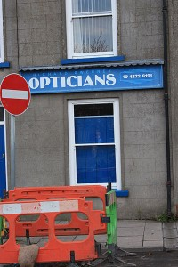 Not the optician Alison goes to