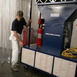portable paint booth the industrial