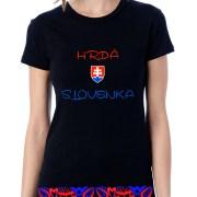 Hrdá Slováčka čierna
