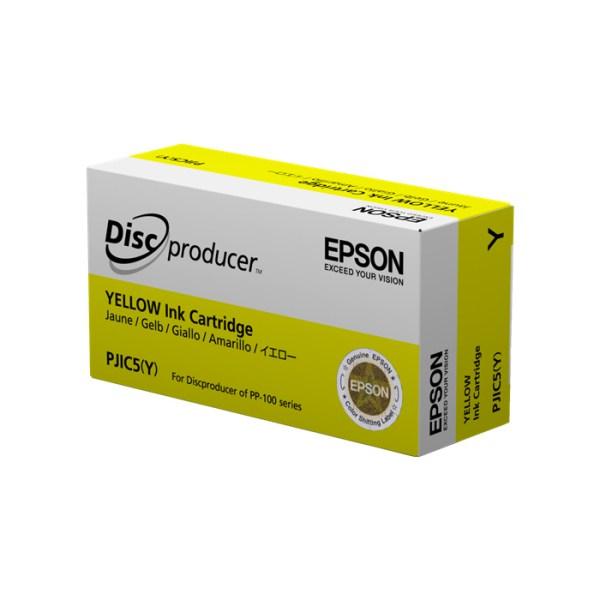 Cartouche d'encre EPSON PJIC5 Jaune pour discproducer PP100