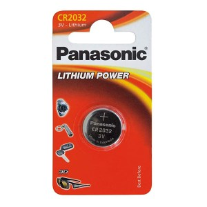 Pile Bouton Lithium CR2032 Panasonic