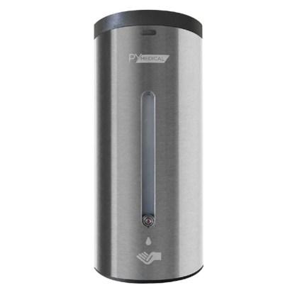 Distributeur automatique gel hydroalcoolique inox