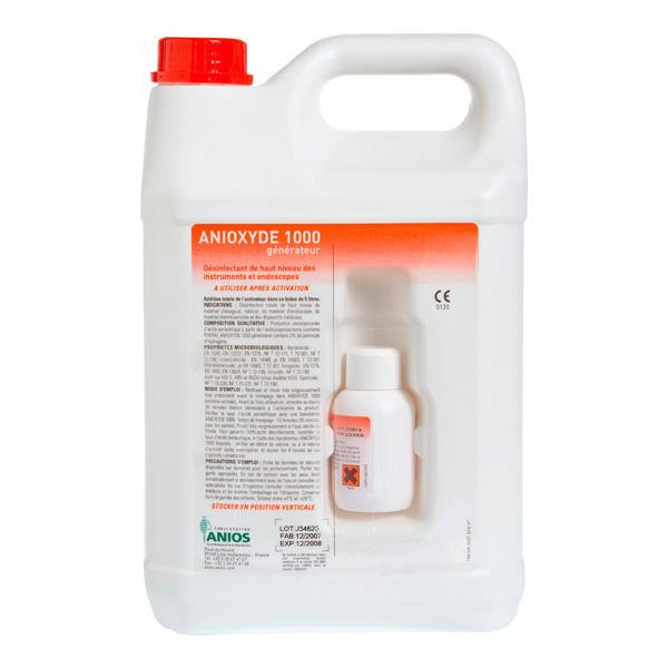 Anioxyde 1000 désinfectant dispositifs médicaux Anios flacon