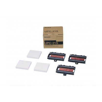 Kit papier thermique et rouleau encreur SONY UPC-21S