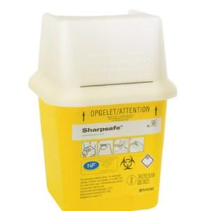 collecteur de déchets médicaux sharpsafe 4l