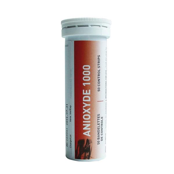 bandelettes de controle pour anioxyde 1000