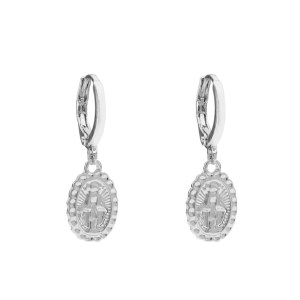 Earrings Maria silver