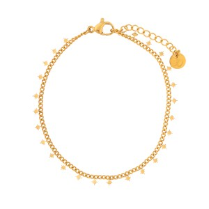 Bracelet northstars gold