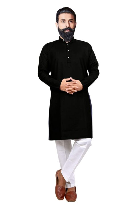 Be Active Kurta Pajama Set for Mens Ethnic Wear with Designer Rich Traditional Look (with one Mask Free)