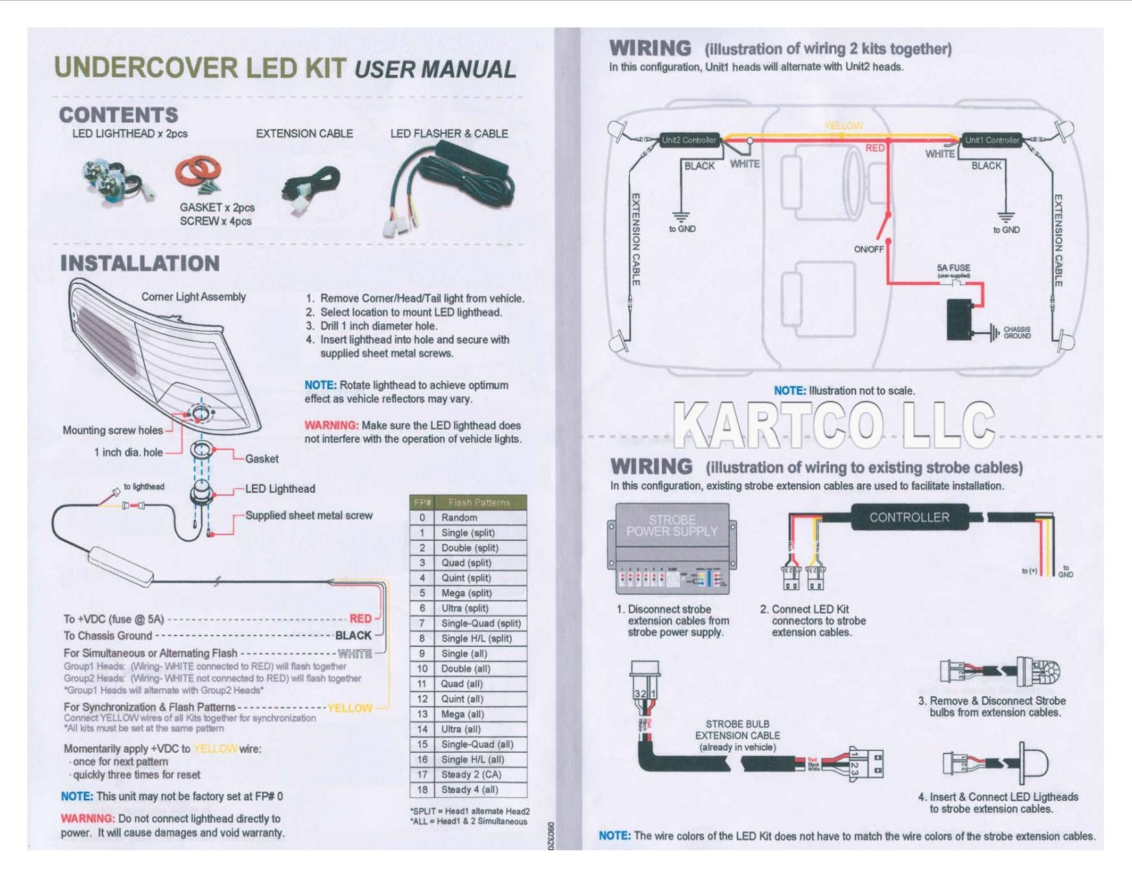 Whelen Strobe Power Supply Wiring Diagram