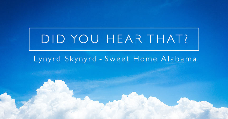 I don't own any content of this song! Did You Hear That Lynyrd Skynyrd Sweet Home Alabama