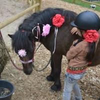 Yuna op Pony vakantie naar Center Parcs Het Meerdal