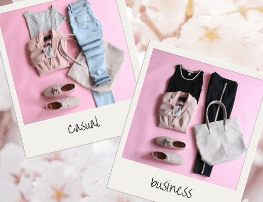 Zacht roze blazer