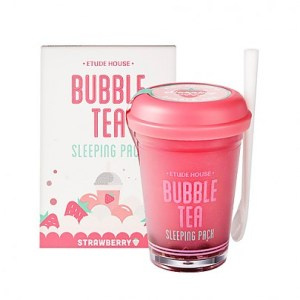 Etude houseBubble Tea Sleeping Pack Strawberry 100g