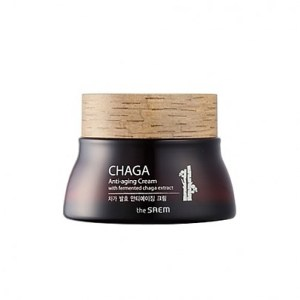 The saem CHAGA Anti-aging Cream with fermented chaga extract 60 ml