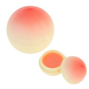 Tonymoly Peach Hand Cream (30g) with Mini Peach Lip Balm (20g) Set