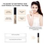 the SAEM Cover Perfection Tip Concealer 6.8g, Beige (4)