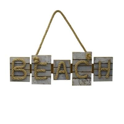TARGHETTA MARE LEGNO BEACH CM42,5X14X3, 5