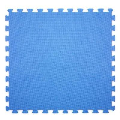 TAPPETINO , CM. 50X50 COLORE BLU 9 PEZZI 2 MQ 5822 - MI013944