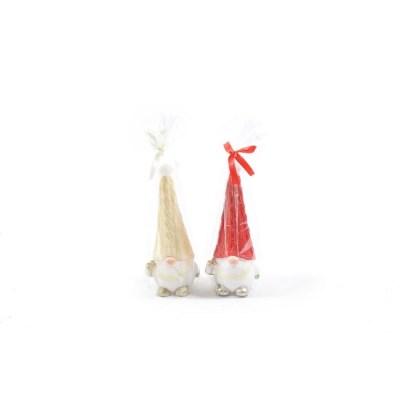 "CANDELA ""CHRISTMAS GNOME"" 8.6X7.5XH20CM ASSORTITI"