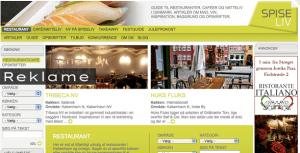 På Spiseliv.dk bliver man guidet til gode restauranter.
