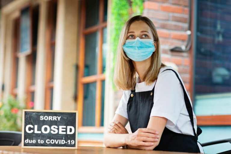 Coronavirus Covid 19 Cafe Closed Bar Small Business Virus Pandemic Restaurant Quarantine Epidemic