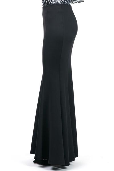 Black Maxi Skirt 2