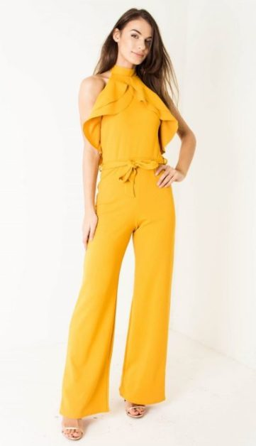 Yellow Belted Jumpsuit 1 (2)