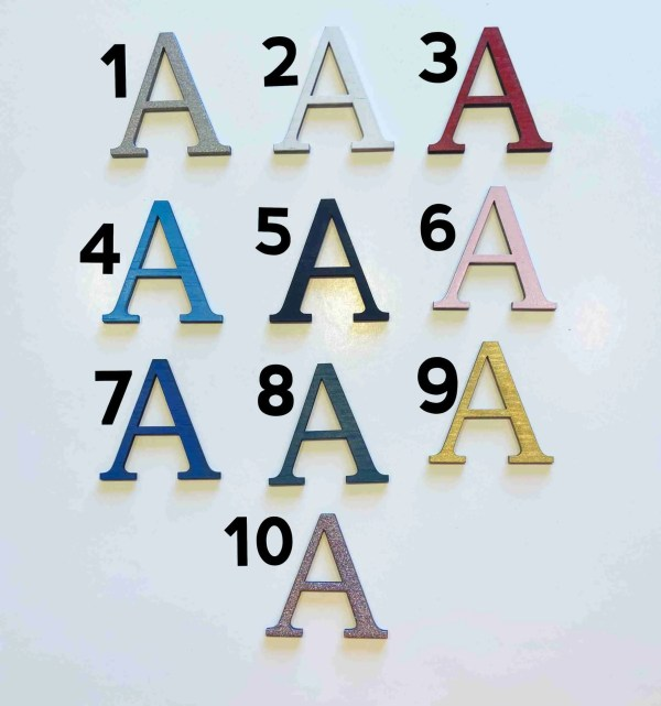 custom sign color swatches