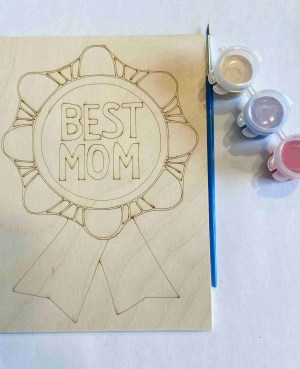 Happy Mother's Day best mom paint kit
