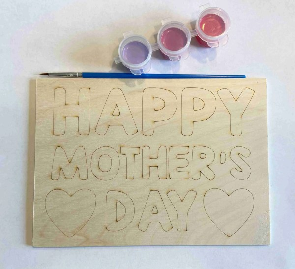 Happy Mother's Day paint kit