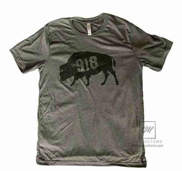 918 buffalo t-shirt grey