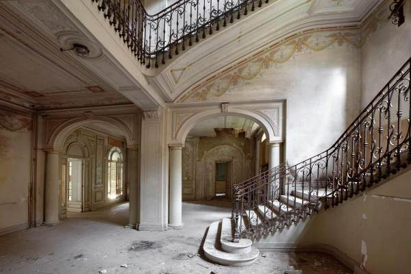 sanatorium abandoné par julien cresp