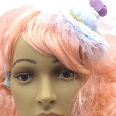 bon bon blue headband front