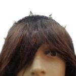 dark cottagecore headpiece front