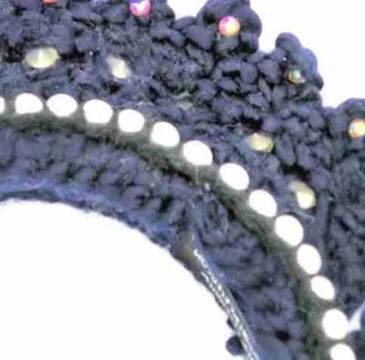 crown earmuff detail