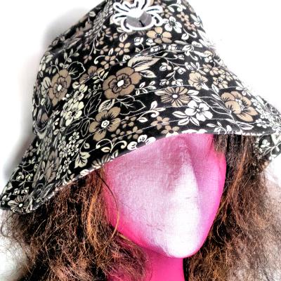 Dark Cottagecore sun hat
