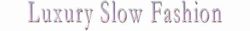 Luxury Slow Fashion logo