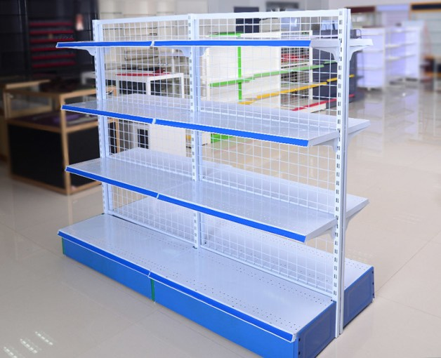Chain Store Supermarket Display Shelving Wire Mesh Storage Shelves     Chain Store Supermarket Display Shelving Wire Mesh Storage Shelves Light  Duty