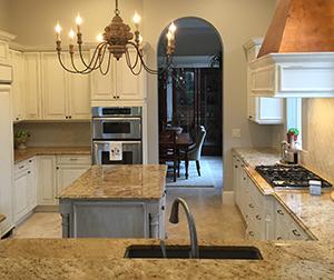 Custom Refinished Kitchen