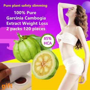 2 Packs 120 pcs Pure Garcinia Cambogia Extract Nature Slimming Weight loss Products Burning Fat Diet Slim body - ShopeeBazar